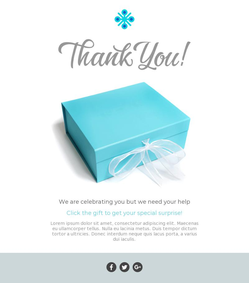 thank you best email template