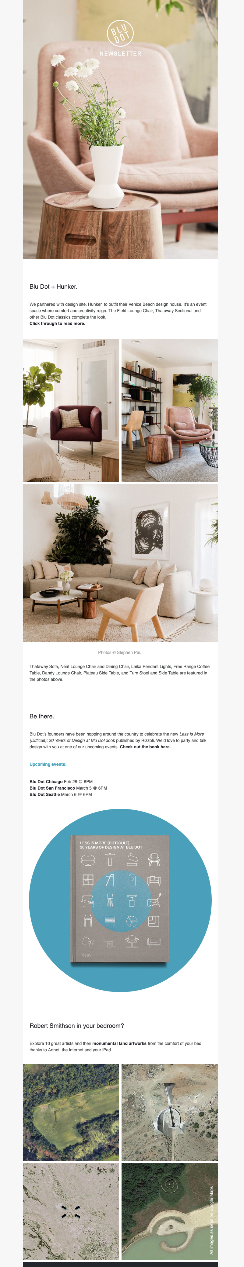 blu dot html newsletter template