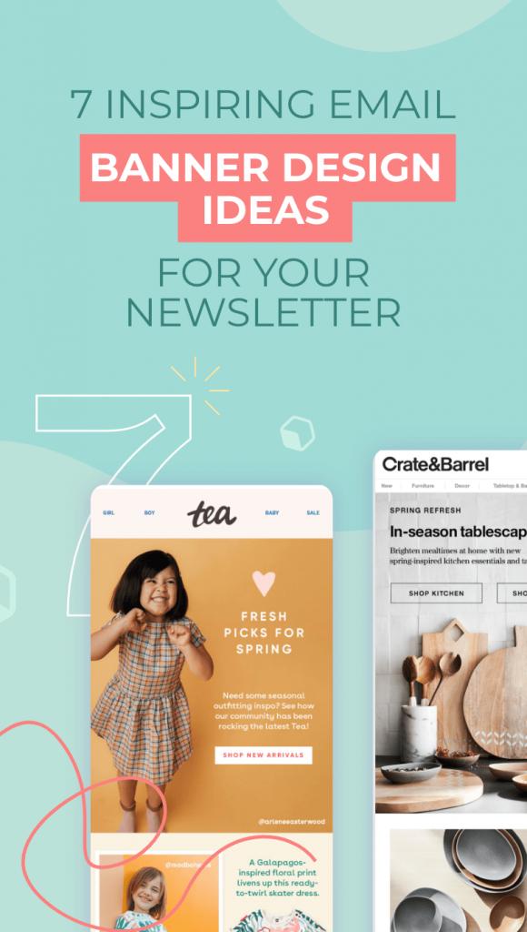 inspiring email banner ideas