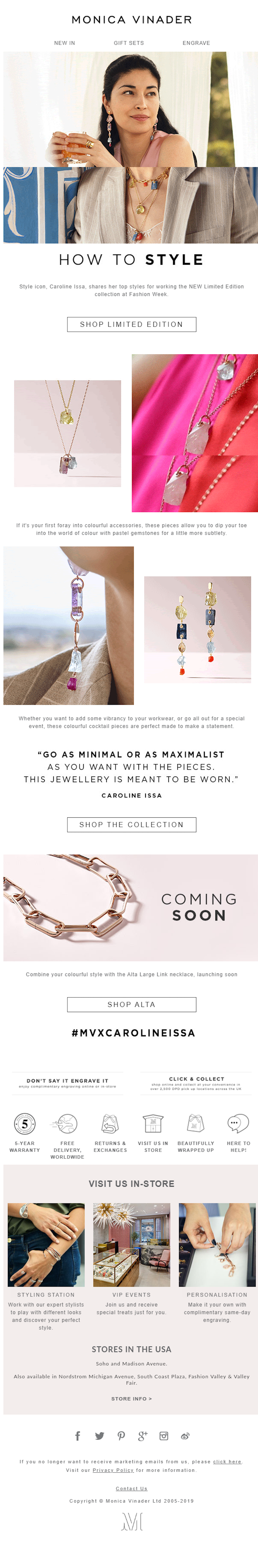 fashion email marketing ideas