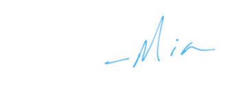 use your handwriting in your email signature
