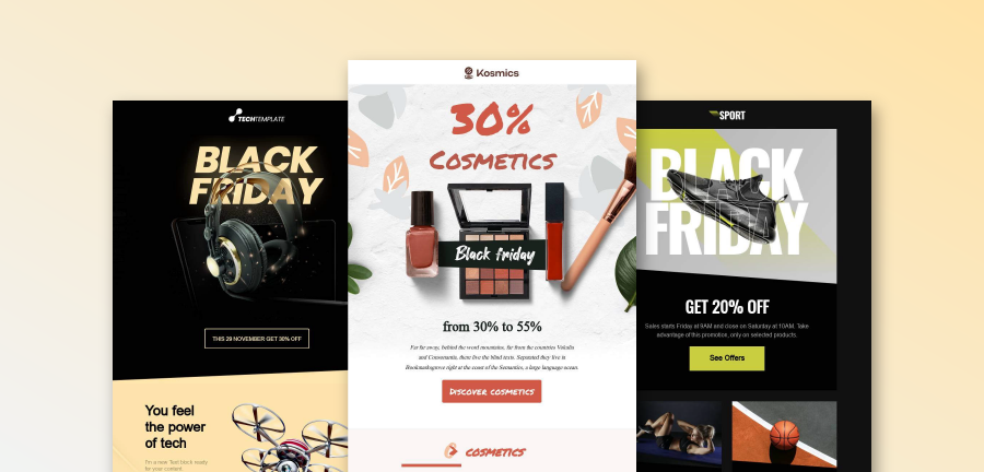 8 Black Friday Sale Emails Built to Boost Conversions