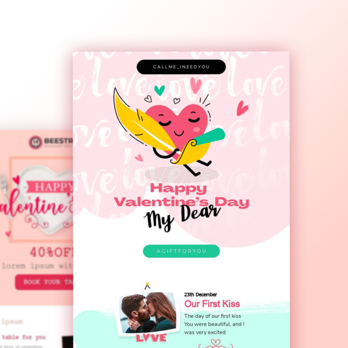 3 Valentine's Day Email Templates for Your 2020 Campaign
