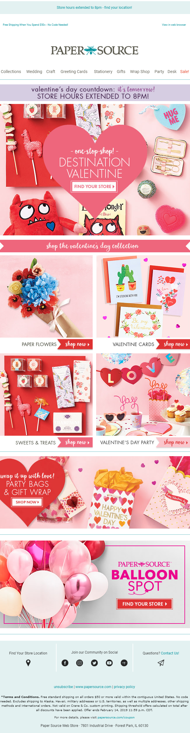 valentine's day email ideas