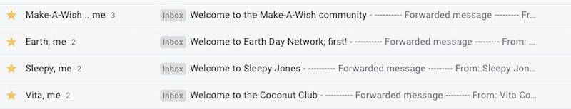 welcome email subject lines
