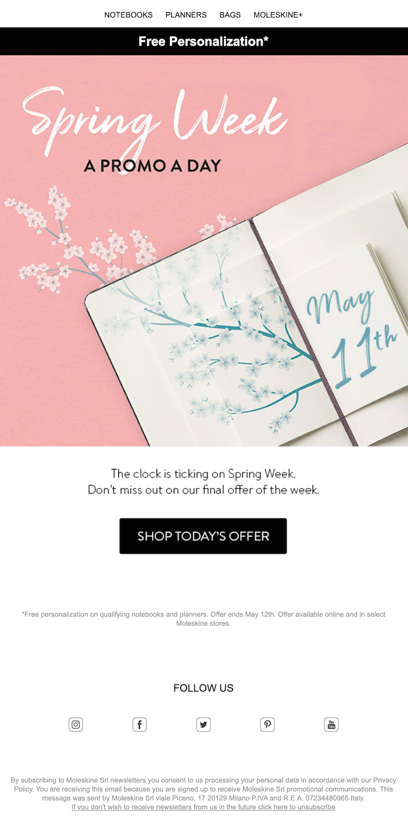 sale email series