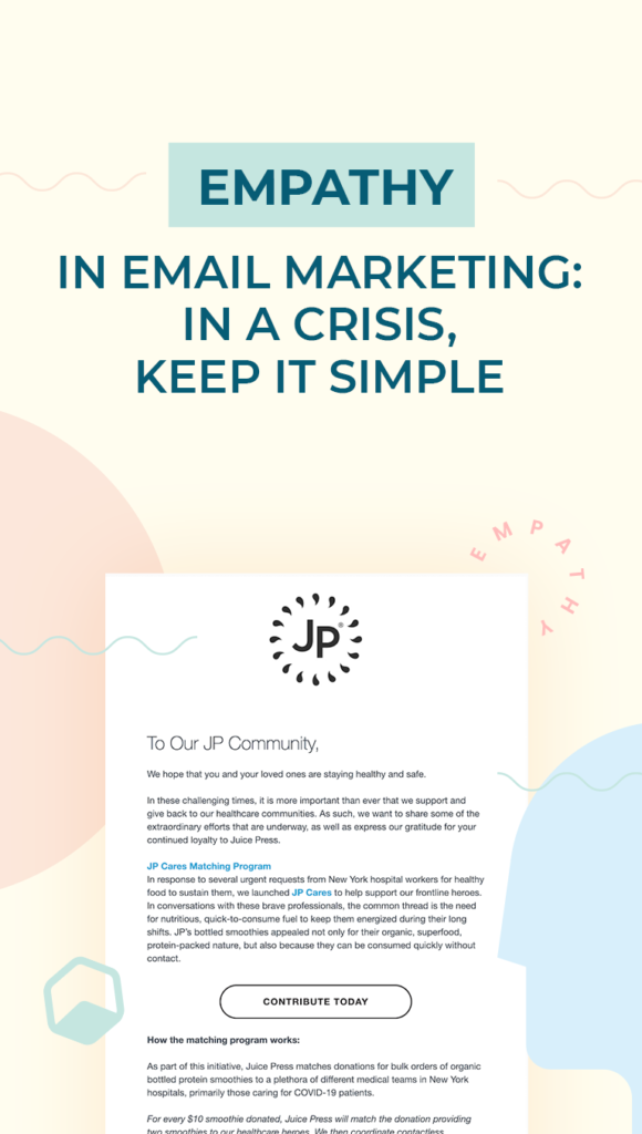 Empathy in Email Marketing Cover