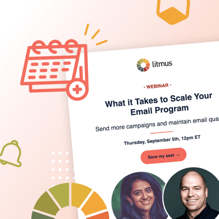 Best Webinar Invitation Emails: An Example From Litmus