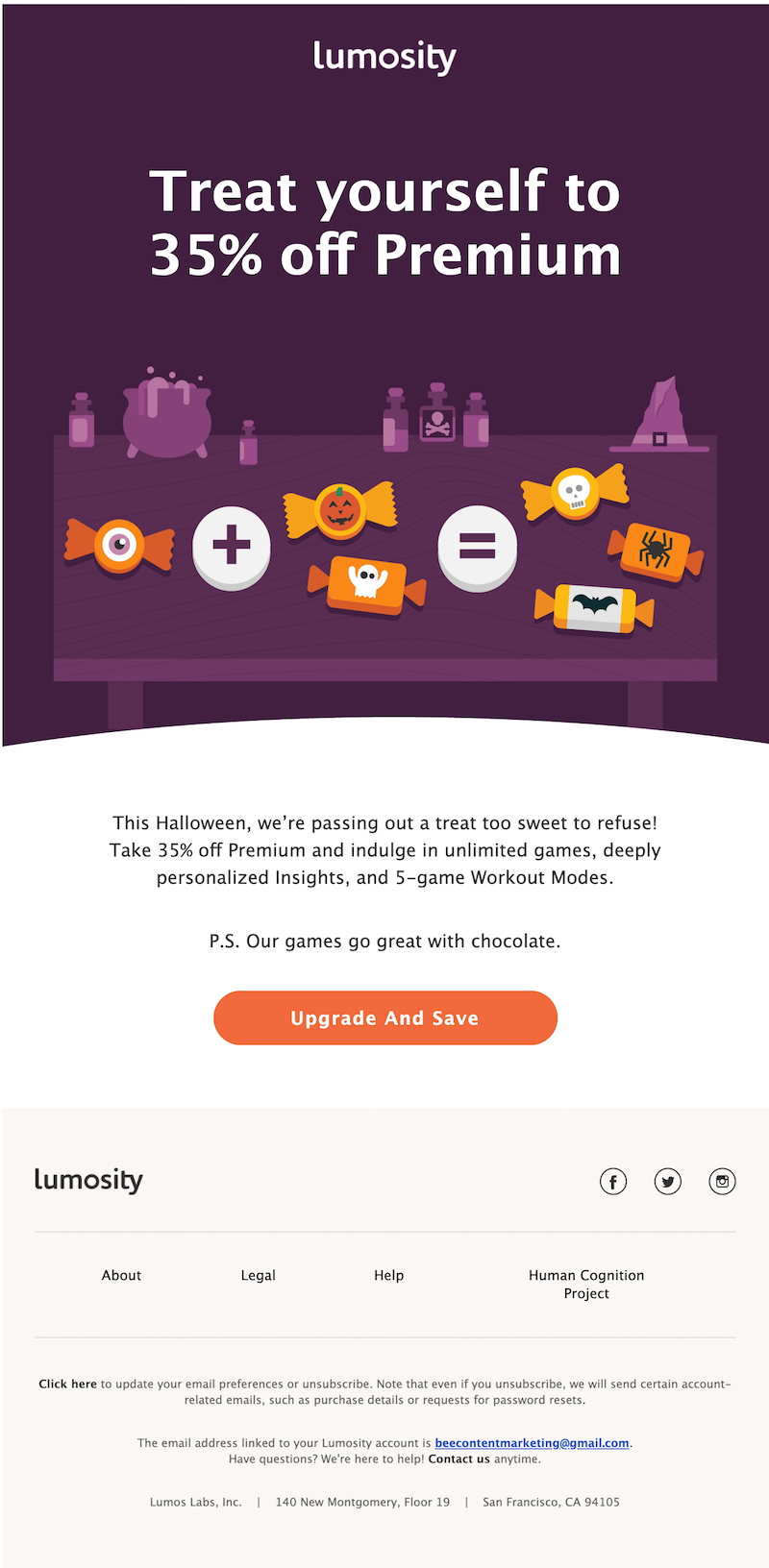 halloween email marketing ideas