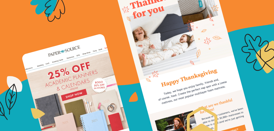 Thanksgiving Email Marketing Ideas to Be Grateful For