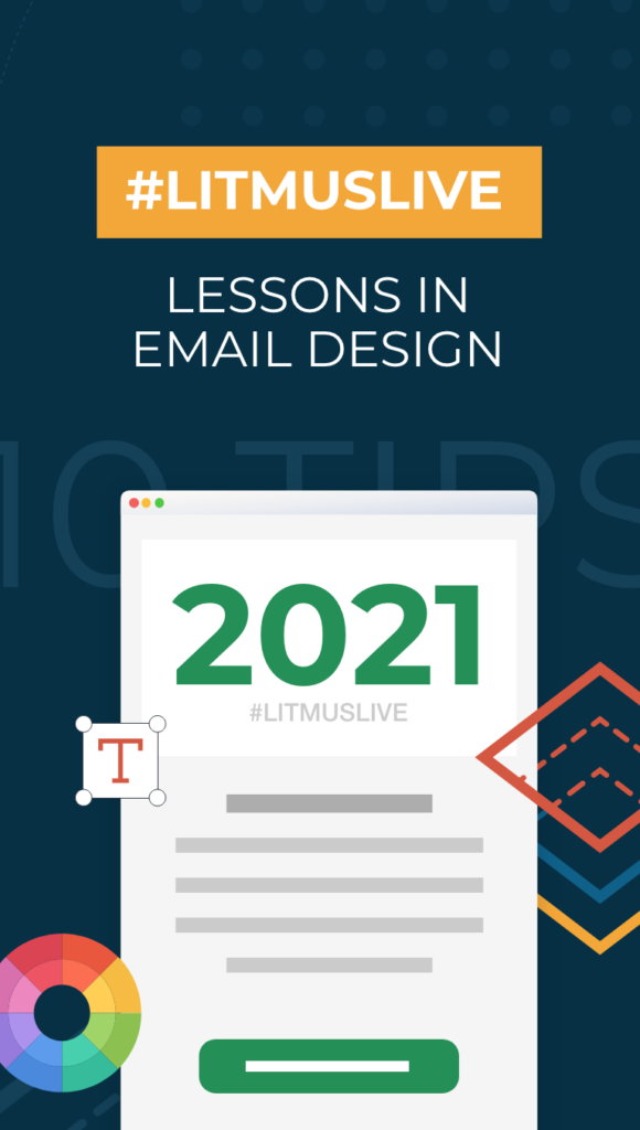 cover of litmus live event with an email and 2021 trends