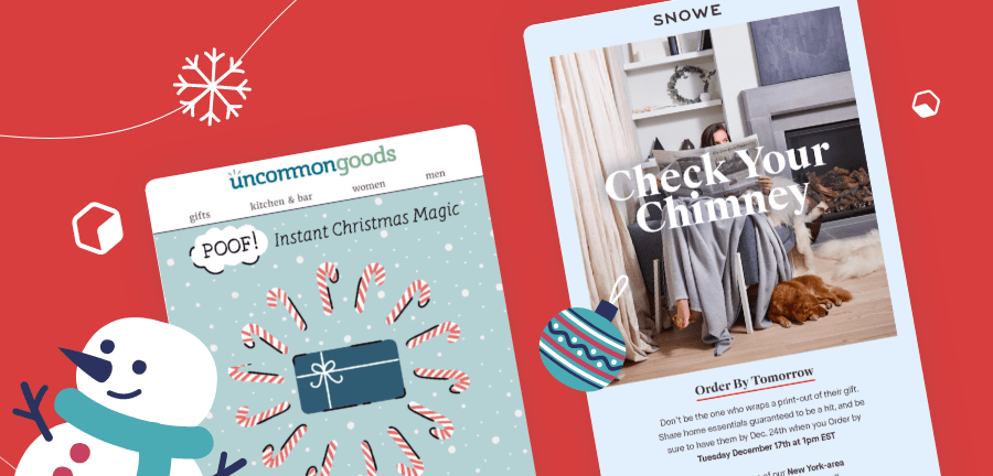 Christmas Email Campaign Ideas to Ring in the Season