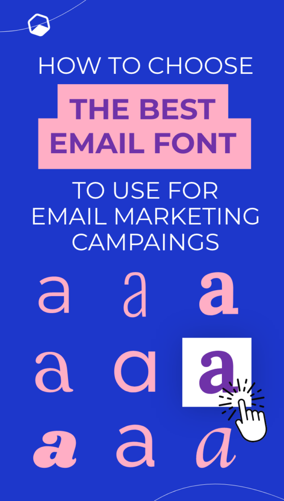 displaying different type of font