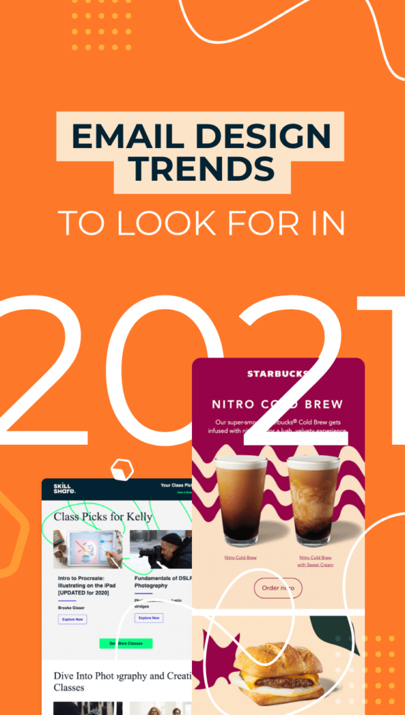 two email and email design trends for 2021