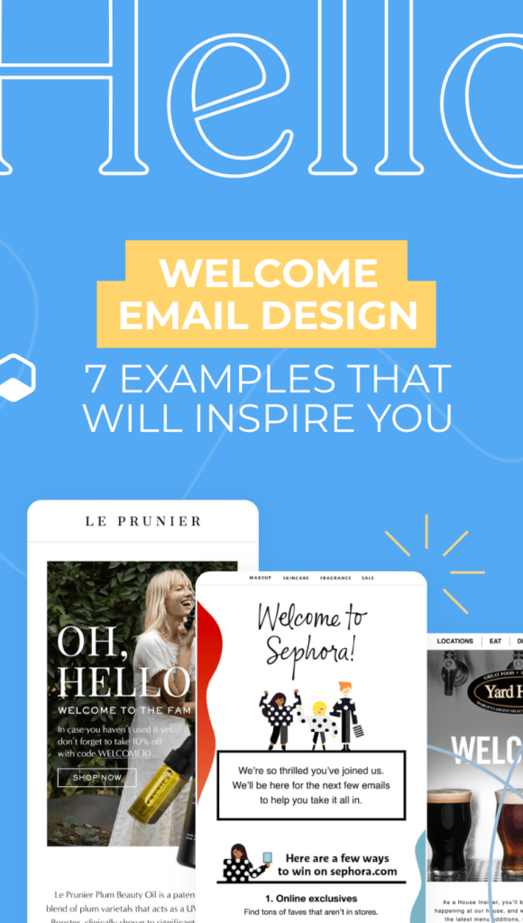 three email about welcome series