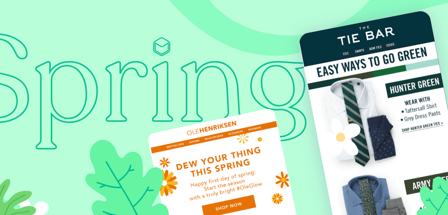 Spring Email Ideas for the Most Colorful Season of the Year