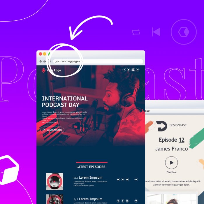 5 Best Podcast Landing Page Examples to Increase Your Subscribers