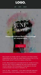 Juneteenth Celebration Template
