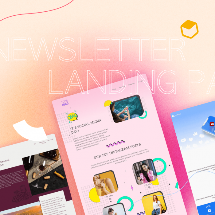 Newsletter Landing Page Examples: 5 Powerful Conversion Tips
