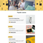 Back to school email templates, back to school landing page templates